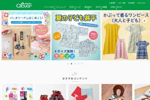 Screenshot of www.clover.co.jp