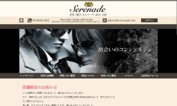Screenshot of www.club-serenade.com
