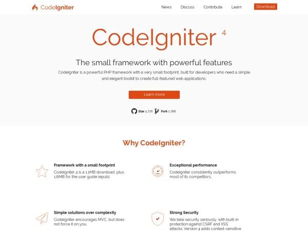 http://www.codeigniter.com/