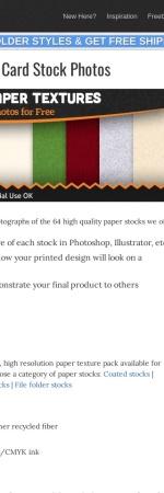 http://www.companyfolders.com/design/paper-textures