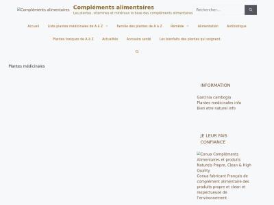 Guide compléments alimentaires sur complements-alimentaires.co