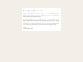 http://www.conceptfeedback.com/
