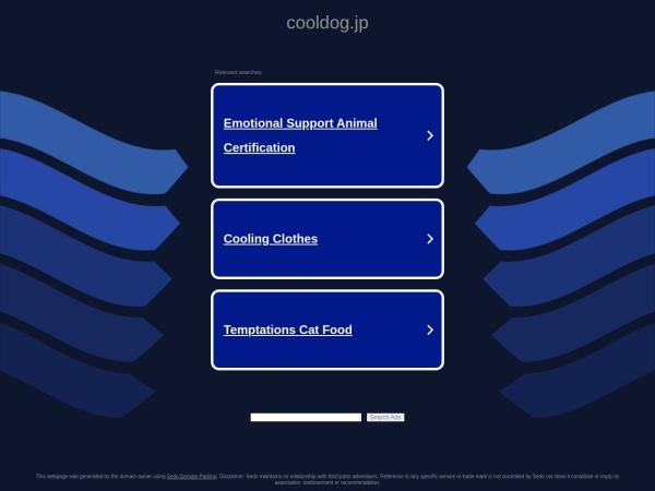 Screenshot of www.cooldog.jp