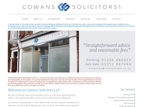 http://www.cowansdorking.co.uk