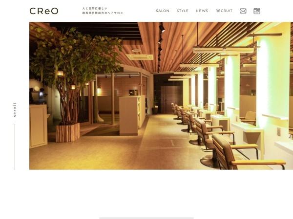 Screenshot of www.creohw.co.jp