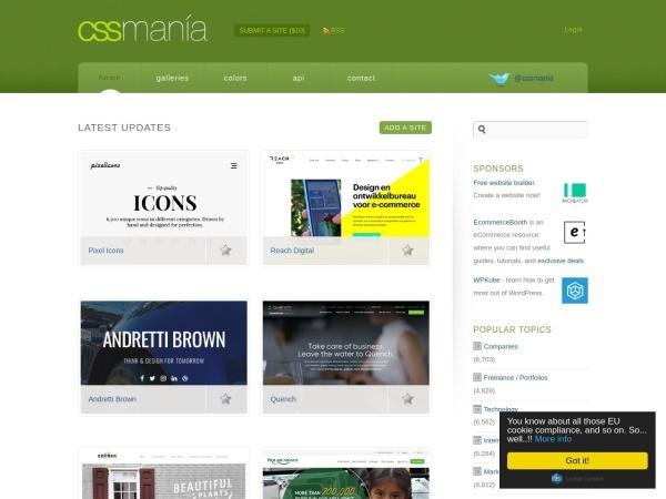 http://www.cssmania.com/