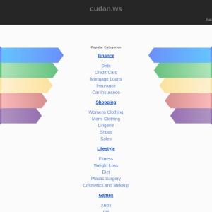 Screenshot of www.cudan.ws