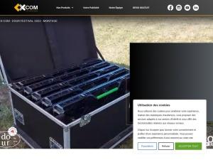 CX-COM, votre agence de communication spécialisée dans la location et la vente d'écran géant LED