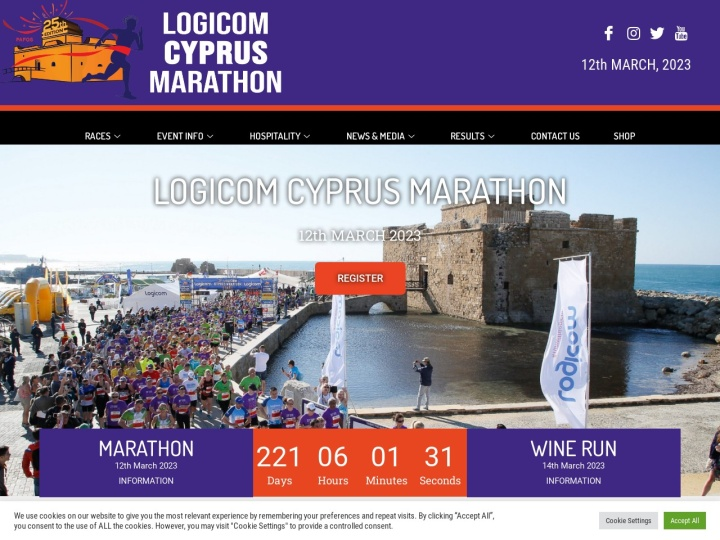 There is no page preview available for LOGICOM CYPRUS MARATHON 2018 at this moment. Please try again later.