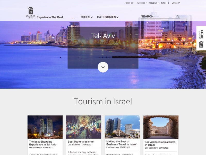 7 Best Israel Travel Blogs - Complete List of Top Israel Travel Blogs 2019