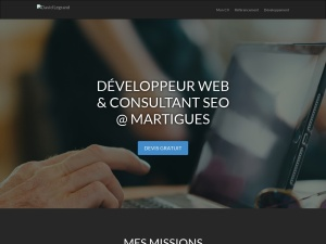 David Legrand, développeur Web à Martigues