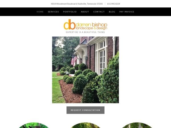 Screenshot of www.dblandscapedesign.com