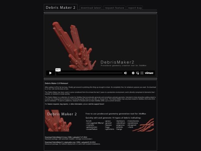 http://www.debrismaker.aarondabelow.com/v1/