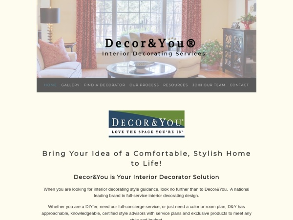 Screenshot of www.decorandyou.com