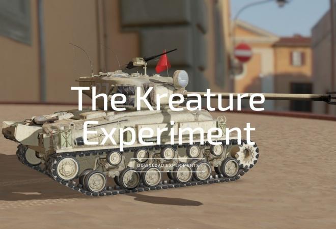 Screenshot of www.derkreature.com