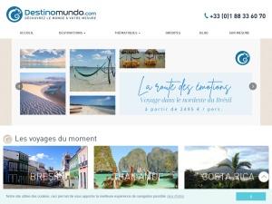 Voyagez avec Destinomundo