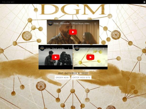 Screenshot of www.dgmsite.com