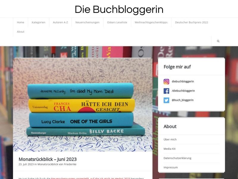 www.diebuchbloggerin.de