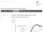 Screenshot of www.digitale-nachhaltigkeit.unibe.ch