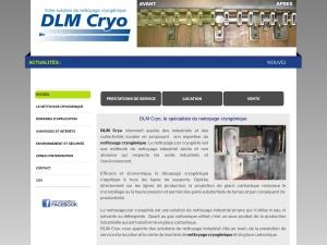 Décapage industriel par cryogénie