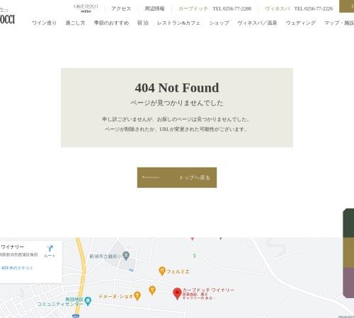Screenshot of www.docci.com