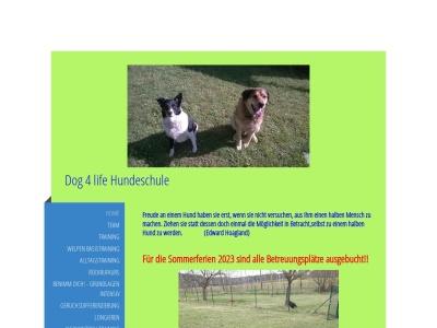 dog-4-life-hundeschule.de