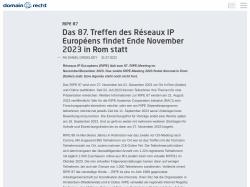 Domain Recht