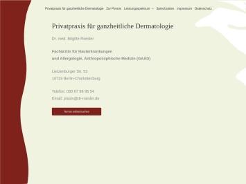 Screenshot of www.dr-roesler.de