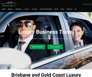 Screenshot of www.driveme2.com.au