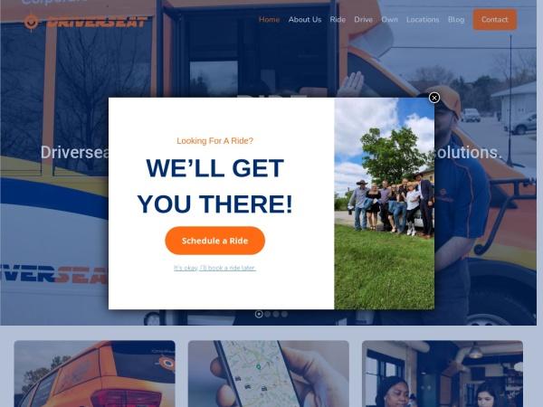 Screenshot of www.driverseatcanada.com