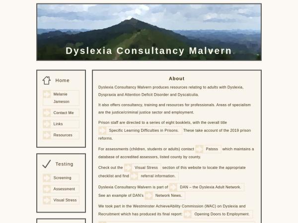 Dyslexia Malvern