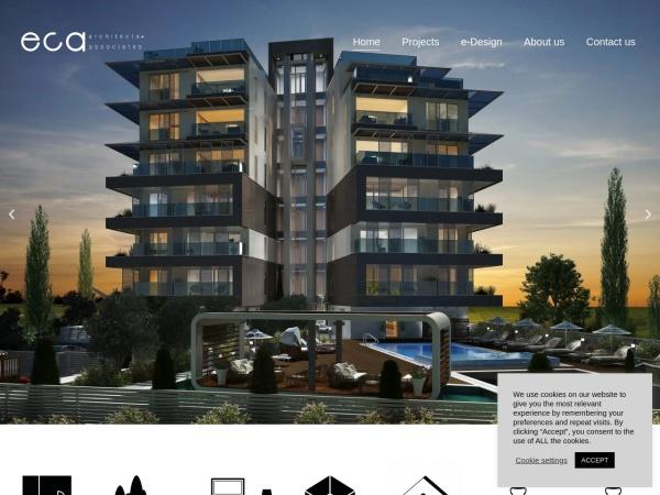 Screenshot of www.eca-architects.com
