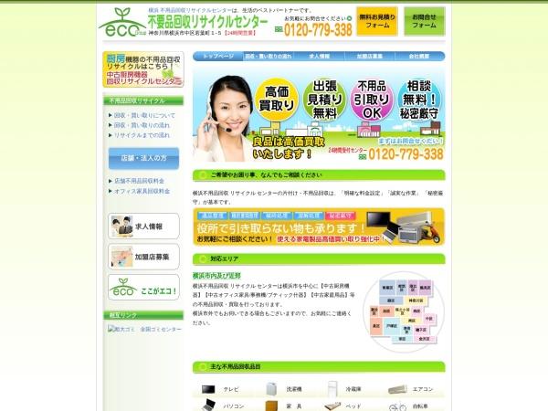 Screenshot of www.eco-rc.com