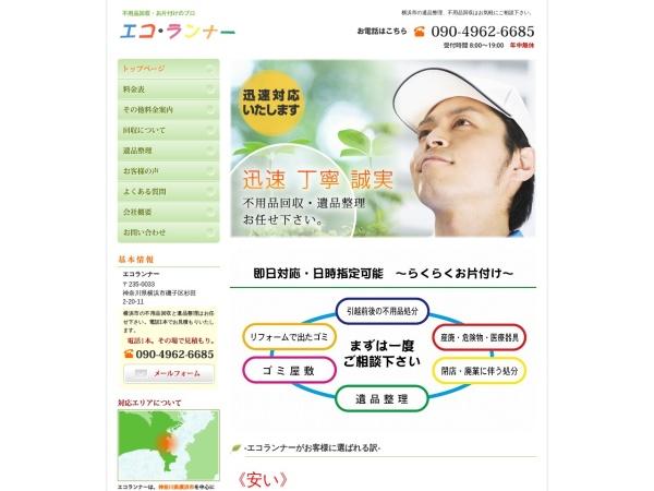Screenshot of www.eco-runner.info