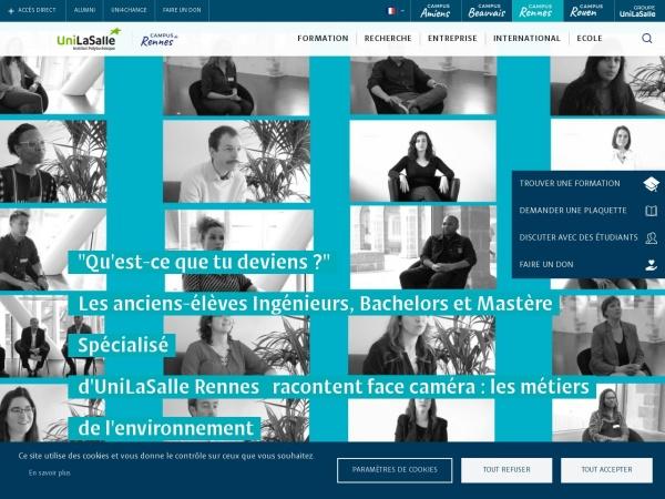 Screenshot of www.ecole-eme.fr