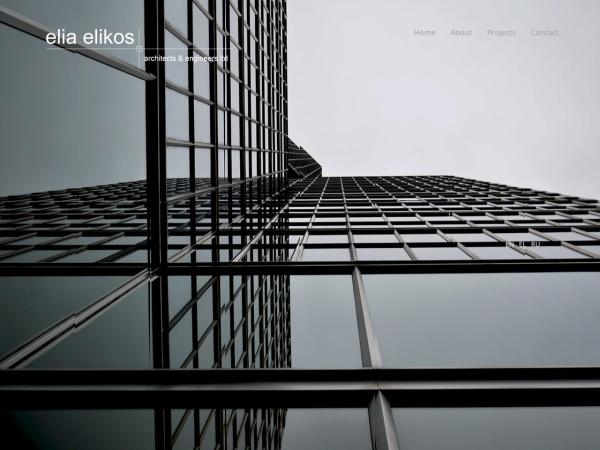 Screenshot of www.eliaelikos.com