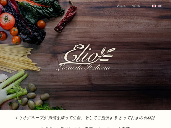 Screenshot of www.elio.co.jp