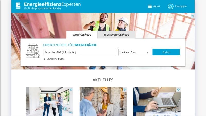 Screenshot of www.energie-effizienz-experten.de