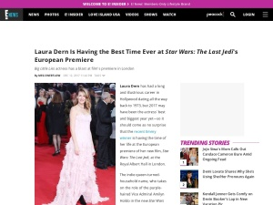 http://www.eonline.com/news/899780/laura-dern-is-having-the-best-time-ever-at-star-wars-the-last-jedi-s-european-premiere