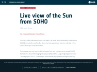 http://www.esa.int/Our_Activities/Space_Science/The_Sun_now