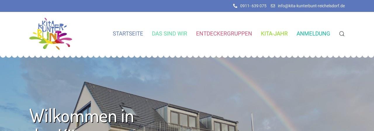 Screenshot of www.ev-kindergarten-reichelsdorf.de
