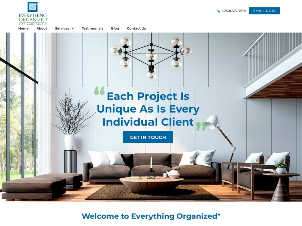Screenshot of www.everythingorganized.net