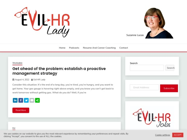 Evil HR Lady Screenshot