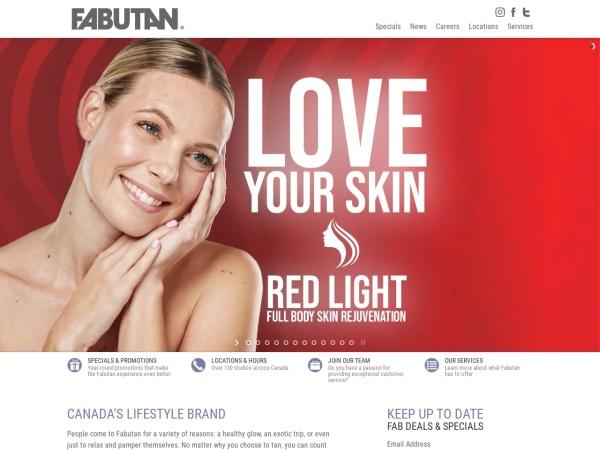Screenshot of www.fabutan.com