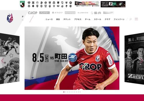 Screenshot of www.fagiano-okayama.com