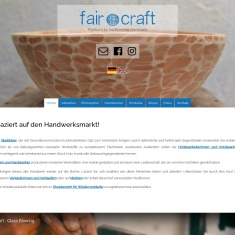Screenshot of www.fair-craft.com