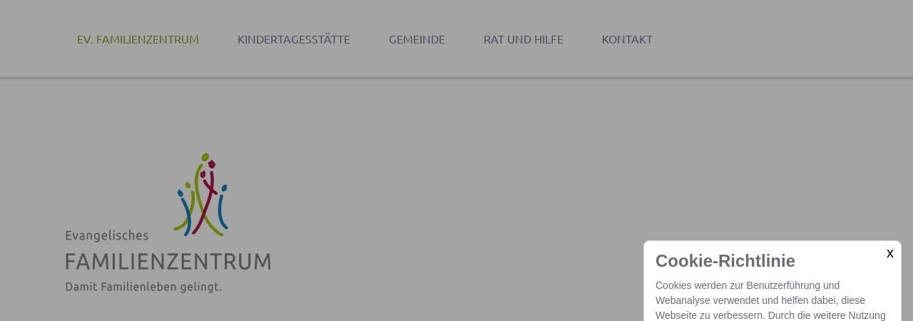 Screenshot of www.familienzentrum-erlangen.de