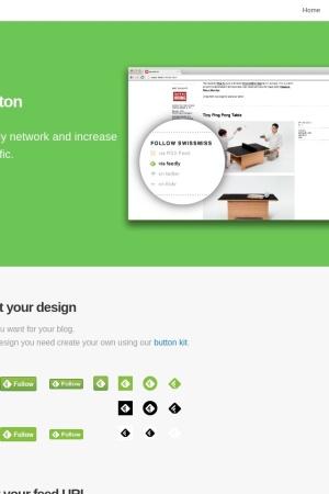 Screenshot of www.feedly.com