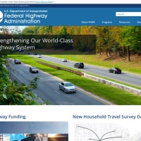Screenshot of www.fhwa.dot.gov