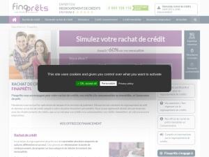 Finaprêts : rachat de crédits à la consommation